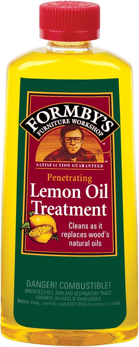 Formbys 30115 16 Oz Lemon Oil Furniture Treatment