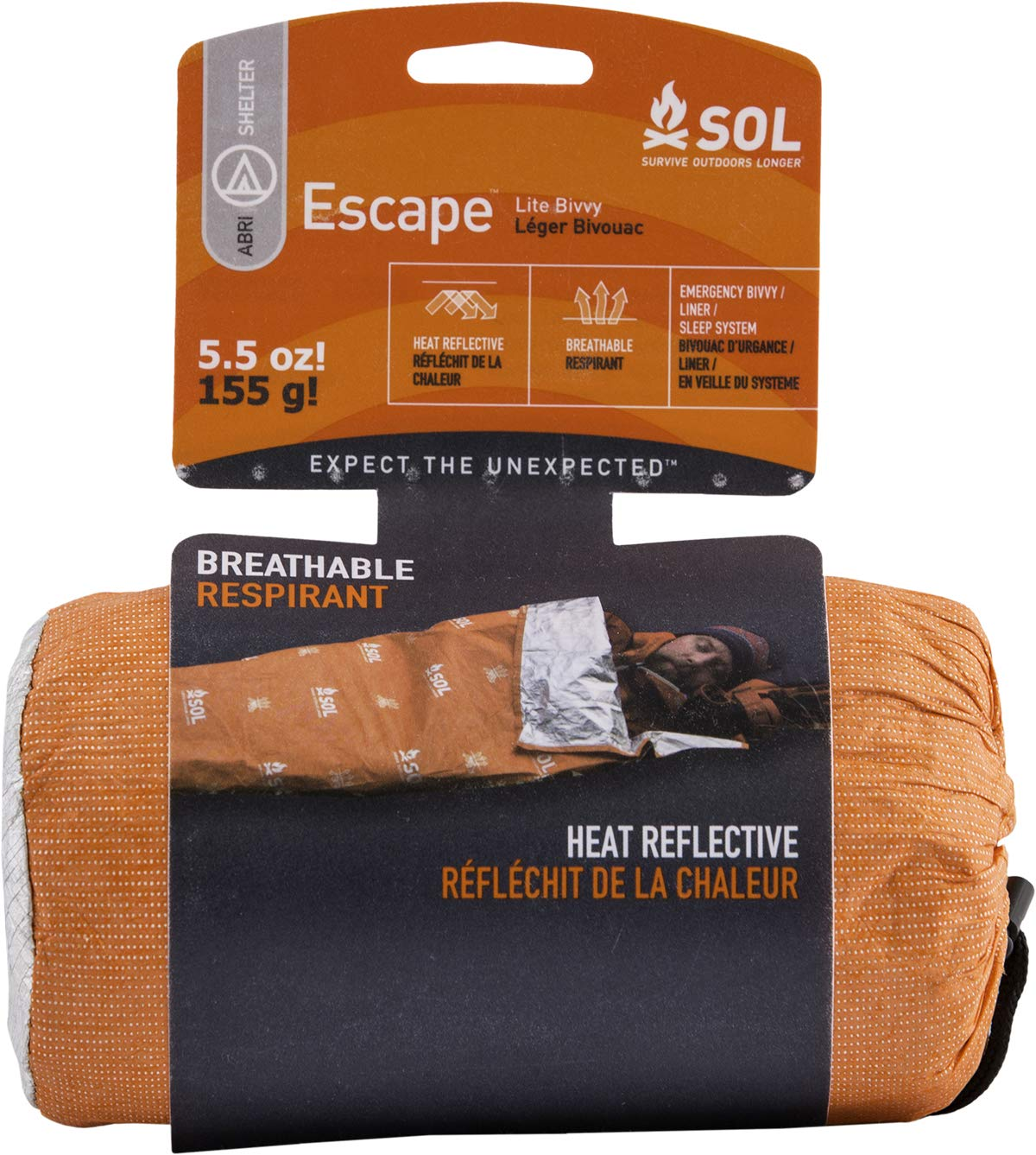 sol escape lite emergency bivvy hiking gifts amazon
