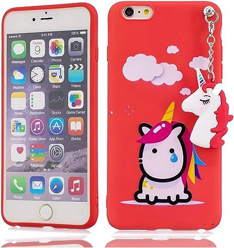 YuanYuZhongPhoneSky iPhone 6s Plus Carcasa Suave TPU Choque