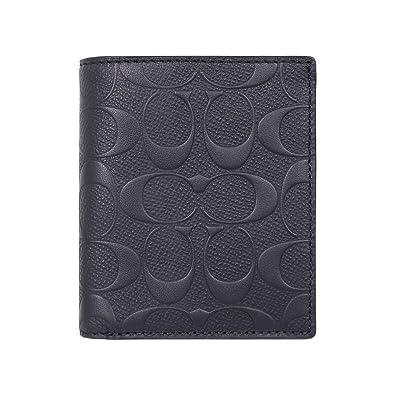 acf9de56db14 [コーチ] COACH 財布 (二つ折り財布) F11970 ブラック BLK シグネチャー レザー 長