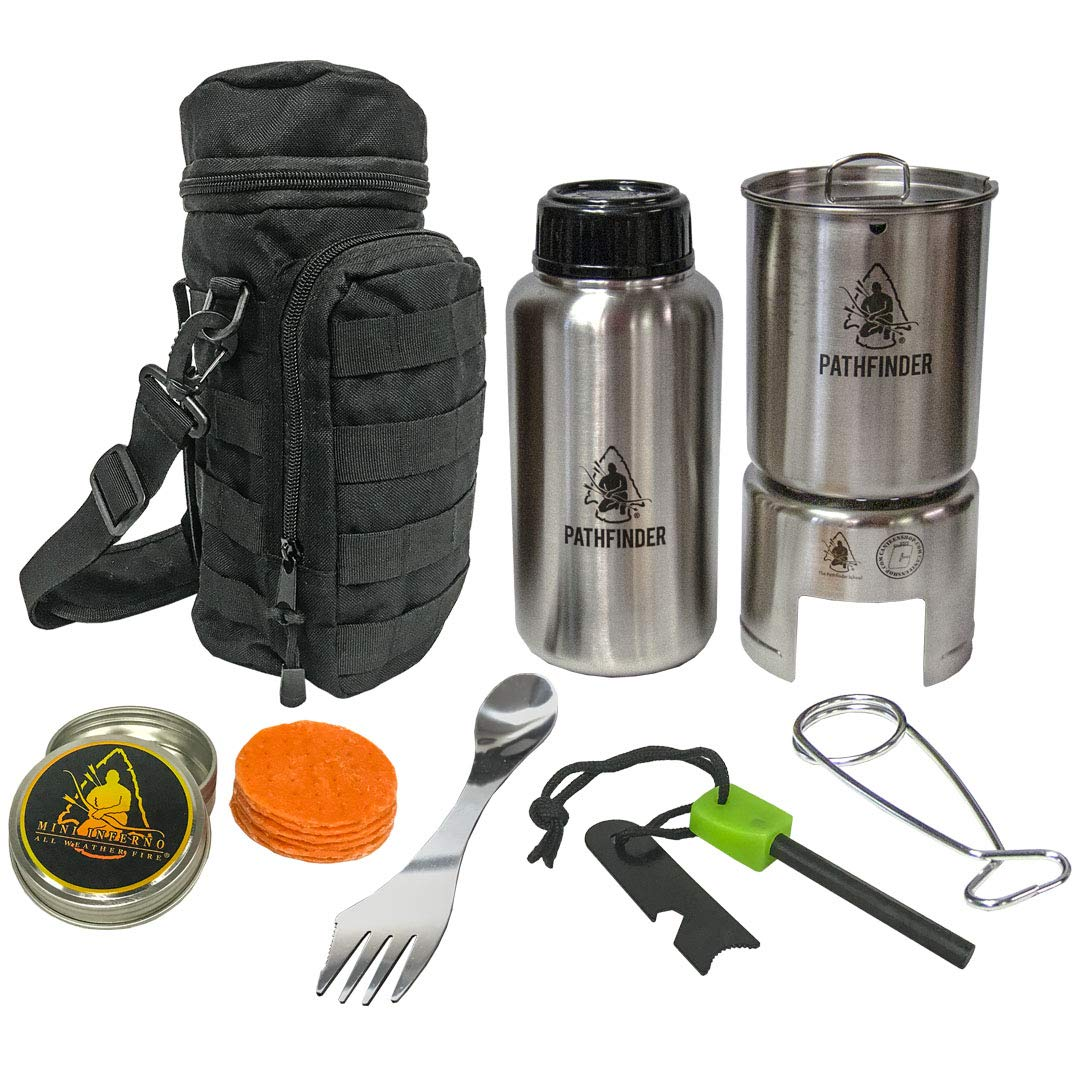 Pathfinder Stainless Steel Bottle Cooking Kit by The Pathfinder School