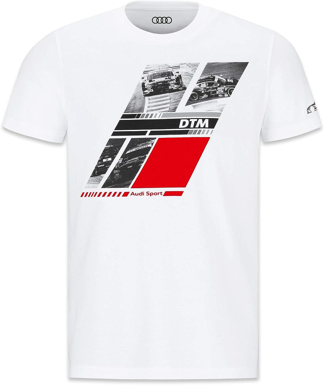 Camiseta para Hombre de Audi Azul Large