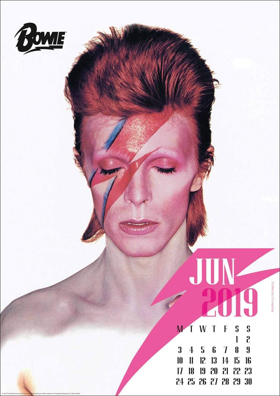 Calendario 2019 Bowie - David Bowie - Maxi formato - formato ...