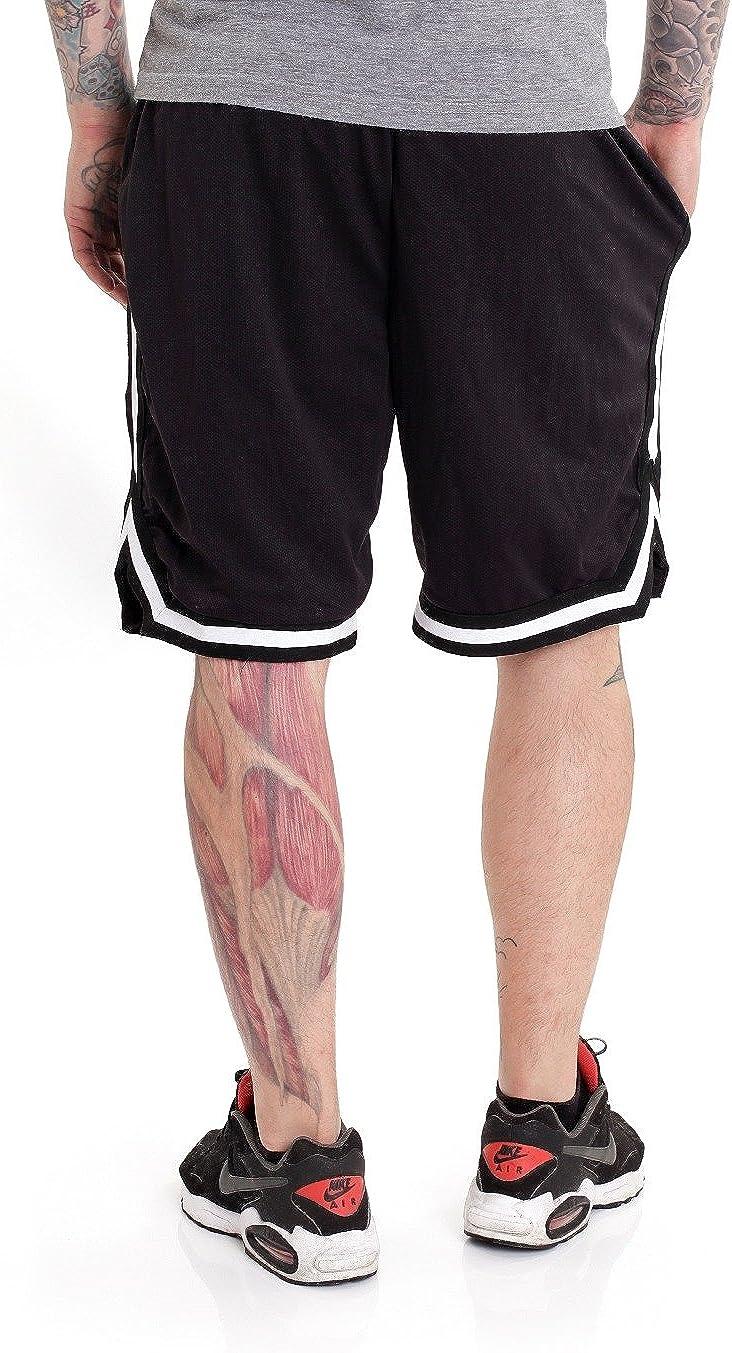 Logo Striped Shorts Carnifex