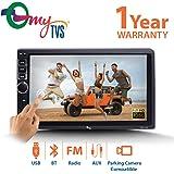 myTVS TAV-40 Double Din HD Touch Screen Car Stereo Media Player (Black)