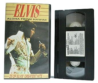 Elvis - Aloha from Hawaii [Alemania] [VHS]: Amazon.es: Elvis Presley, James Burton, Charlie Hodge, Jerry Scheff, Ronnie Tutt, Marty Pasetta, Elvis Presley, James Burton: Cine y Series TV