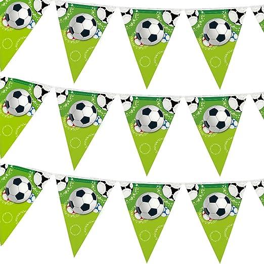 12 pancartas de fútbol para fiestas de fútbol, decoración de ...
