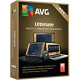 AVG Technologies Ultimate 2018, Unlimited Devices, 1 Year [Key Card]