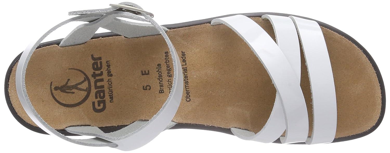 Ganter Damen Sonnica-e 0200) Offene Sandalen Weiß (Weiß 0200) Sonnica-e 1a0d6d