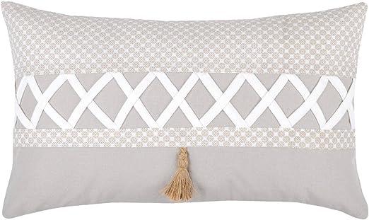 Lovely Casa Nelia cojín, Lino, algodón, 30 x 50 cm: Amazon.es: Hogar