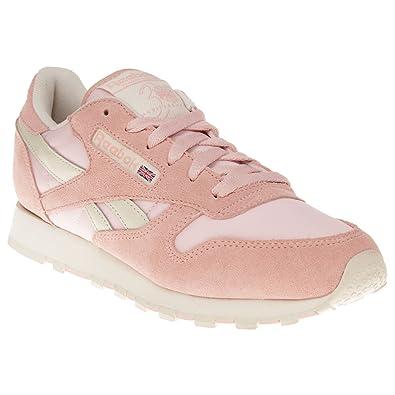 Reebok Classic Leather Pastel Pink 7 UK  Amazon.co.uk  Shoes   Bags e18eeb85b
