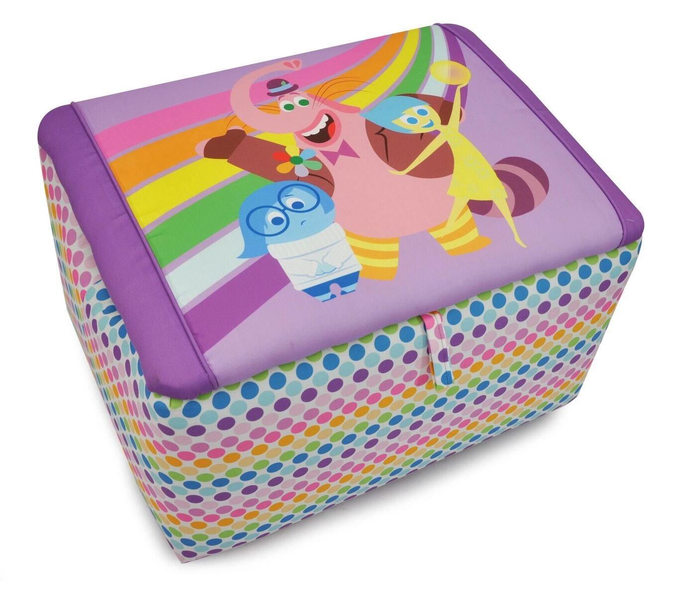 Kidz World Inside Out Upholstered Storage Bench by Kidz World