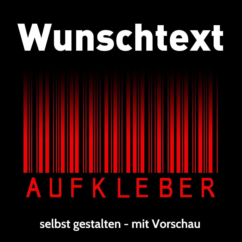 Beschriftung Wunschtext Autotuning Aufkleber Selbst Gestalten Schriftzug Zahl Länge 10cm Auto
