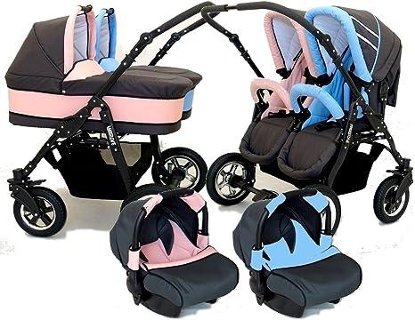 Cochecitos gemelares Carritos de bebé gemelares   Bebemovil