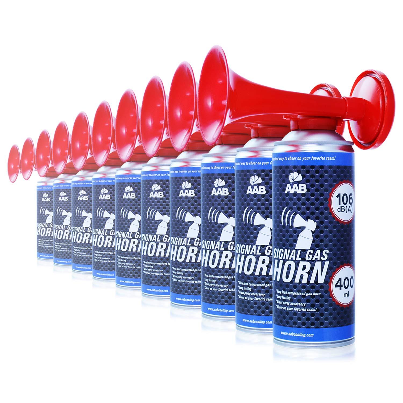 Tromba da Stadio Molto Rumorosa Tromba Nautica ad Aria Compressa Trombe Aria Vuvuzela Clacson Ideale per Feste AAB Signal Gas Horn 400ml