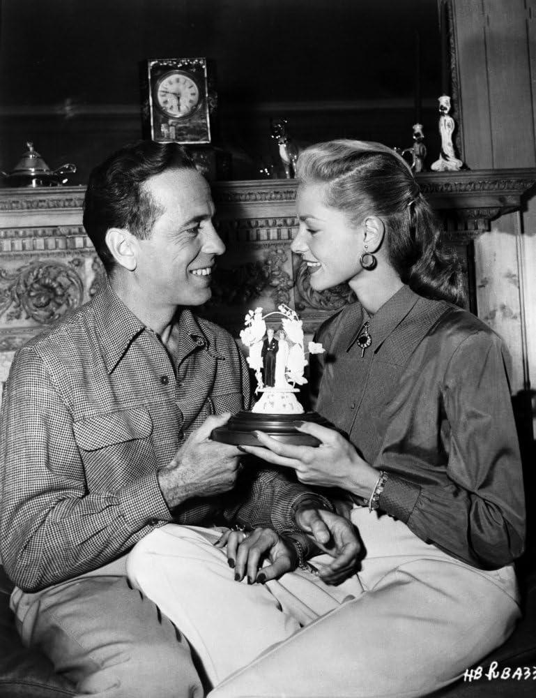 Humphrey Bogart Lauren Bacall Wedding in Couple Scene