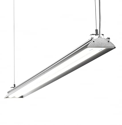 HyperSelect Utility LED Shop Light, 4FT Integrated LED Fixture