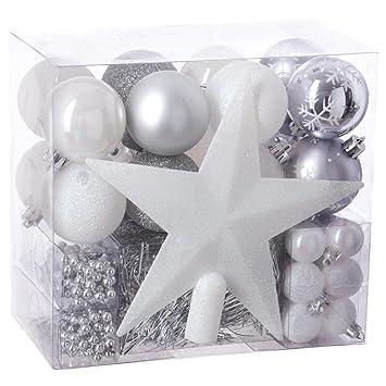 Remarquable Lot déco Noël - Kit 44 pièces pour décoration sapin : Guirlandes IF-36
