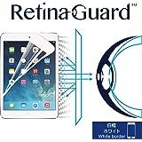 RetinaGuard iPad Air/Air2/Pro9.7 ブルーライト90カット保護フィルム(ホワイトベゼルタイプ)
