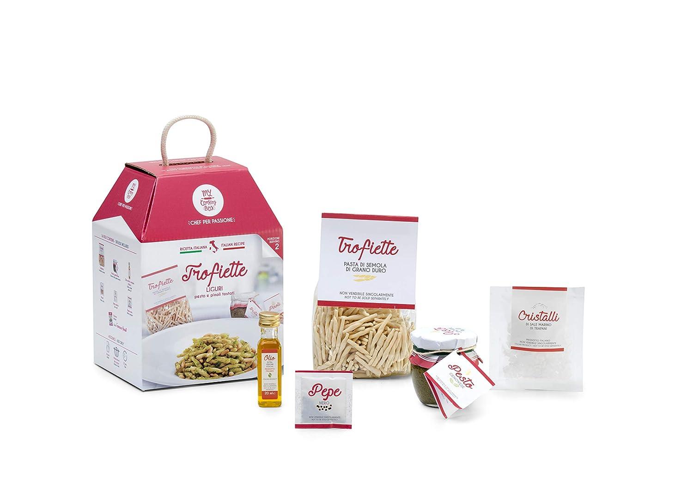 TROFIETTE AL PESTO GENOVÉS My Cooking Box x2 Porciones - Idea regalo para el día de la Madre 2019: Amazon.es: Alimentación y bebidas