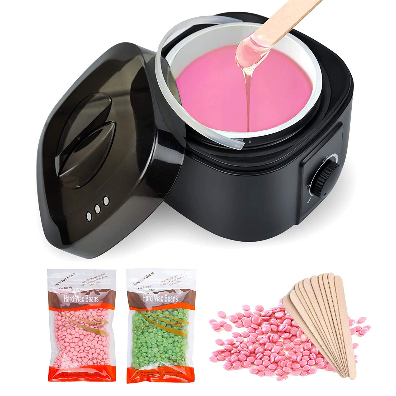 Waxing Kit for Women Wax Warmer for Hair Removal Wax Kit Machine