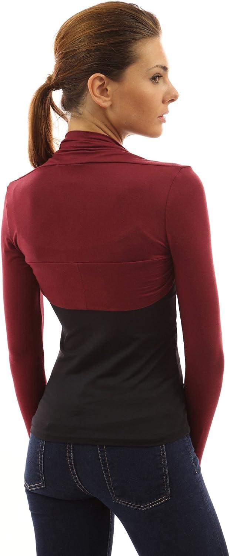 PattyBoutik Women Long Sleeve Bolero Shrug