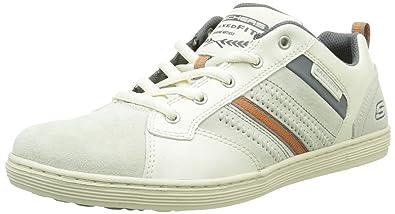 Herren Sorino Evole Sneaker, Weiß, Various, Weiß, 41 EU Skechers