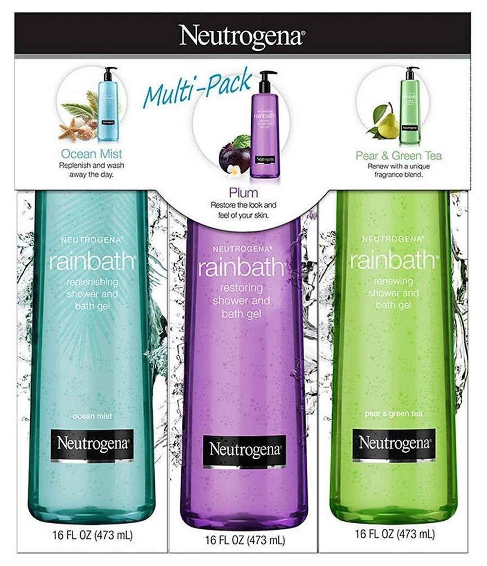 Neutrogena Rainbath Shower Gel (3 Pack/16 fl. oz.), 48 fl. oz. by Neutrogena