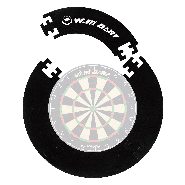 Dart-Auffang-Ring, Catch-Ring-Umrandung schwarz, kompakt zerlegbar Win.Max WMG08771