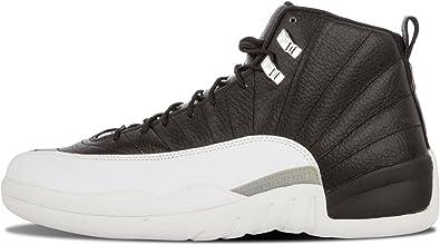 NIKE Mens Air Jordan 12 Retro Playoff Leather Basketball Shoes