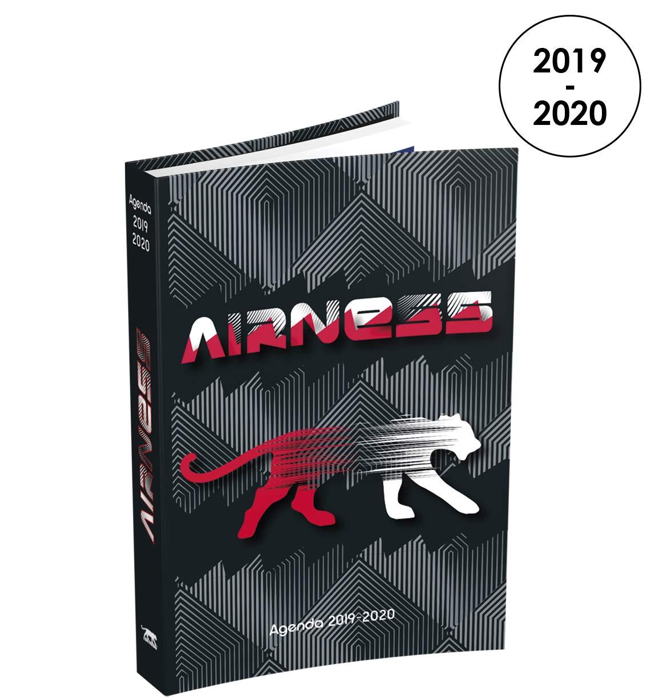 Airness - Agenda diaria 2019 - 2020 de agosto a julio - 1 ...