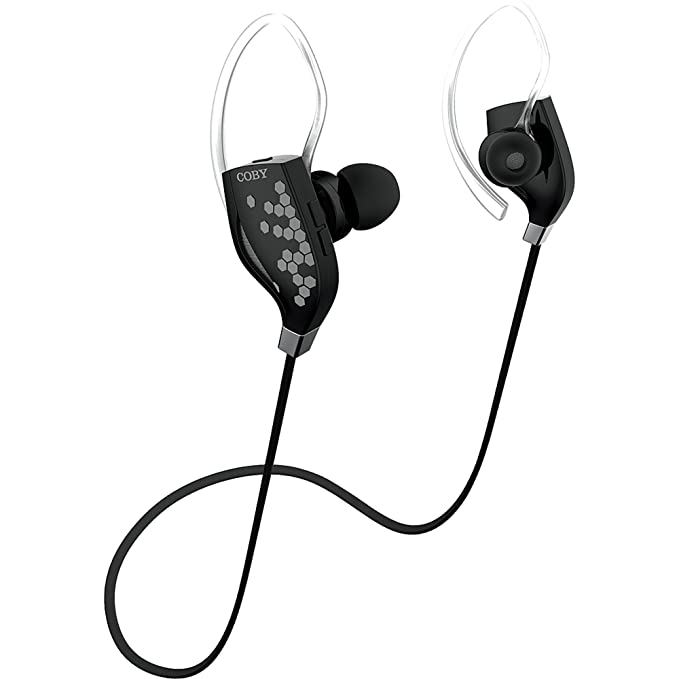 7bfbdfbe2a4 Image Unavailable. Image not available for. Color: Coby Wireless Sport  Earbuds - Black