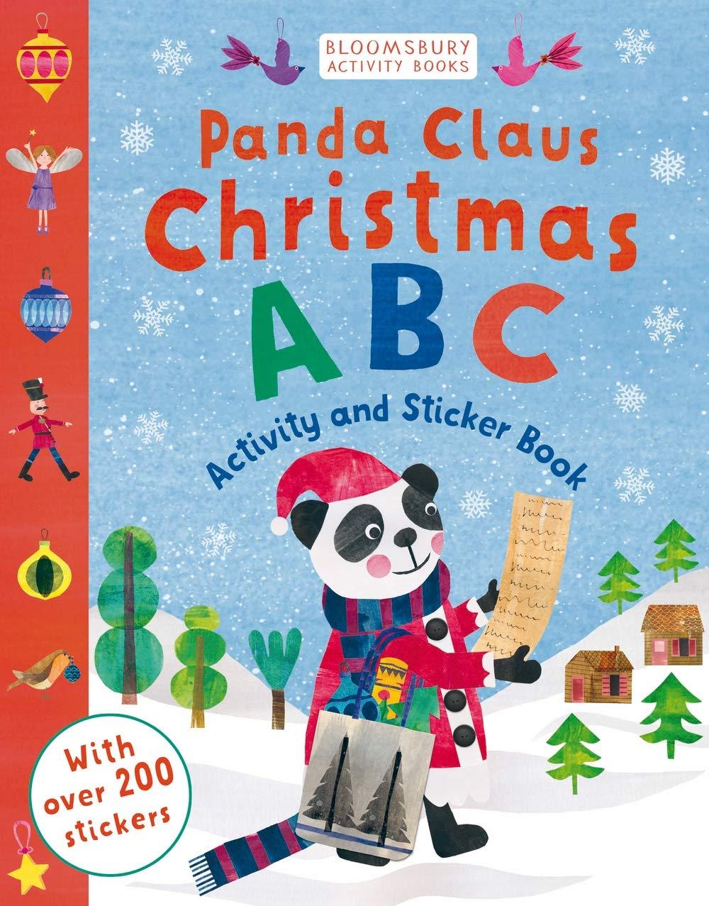 Download Panda Claus Christmas ABC Sticker Activity Book ebook