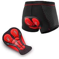 ARSUXEO Gewatteerde 3D-fietsbroek voor heren, fietsondergoed, MTB-ondergoed, reflecterend, ademend, sneldrogend, shorts