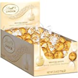Lindt LINDOR Truffles, 60 Count Box. White Chocolate