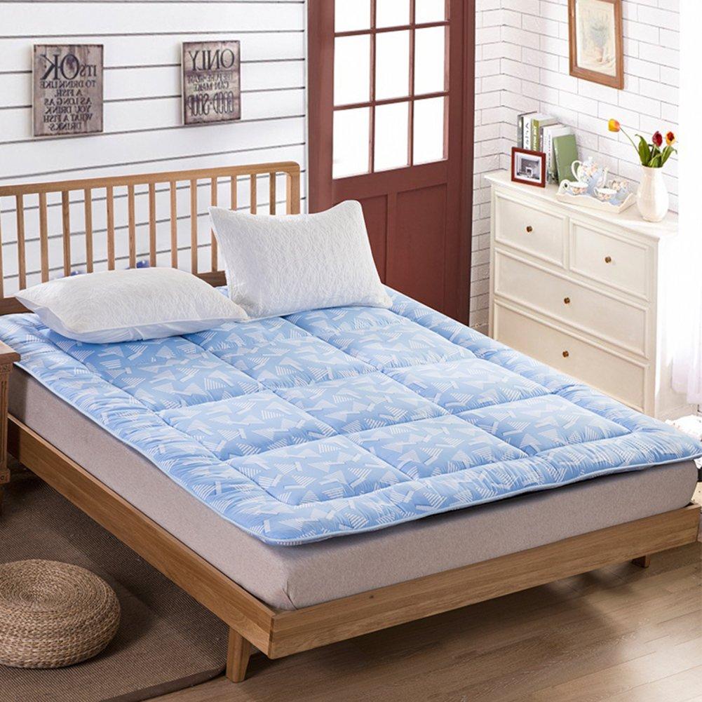 C 150200cm(59x79inch) Mattress Student Dormitory mattresses Foldable Mattress Tatami Mattress pad Non-Slip Mattress-B 120x200cm(47x79inch)