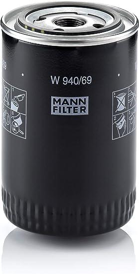 Original Mann Filter Ölfilter W 940 69 Für Pkw Und Nutzfahrzeuge Auto
