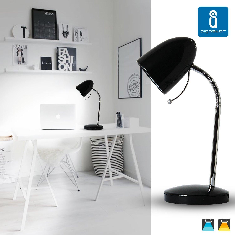 Aigostar 182212 - Lámpara de mesa tipo flexo de diseño retro: Amazon.es: Iluminación
