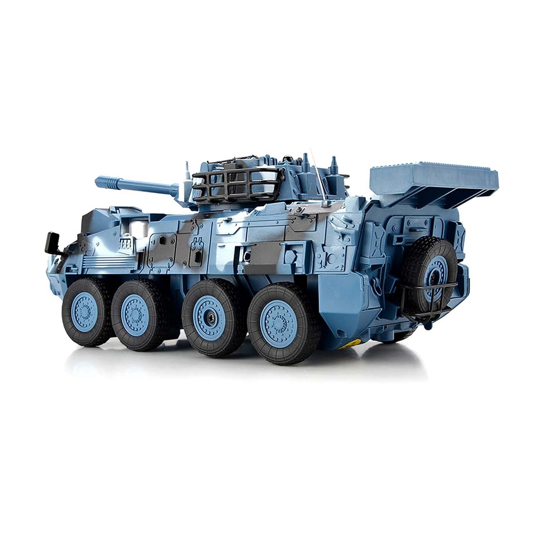 batterie et chargeur HSP Himoto Leopard Militärfahrzeug Kit complet Ink léopard RC ferngesteuerter Chariot véhicule militaire Char de Combat avec pneus Télécommande Simulation à feu et rotation barem Tour pour 180° véhicule
