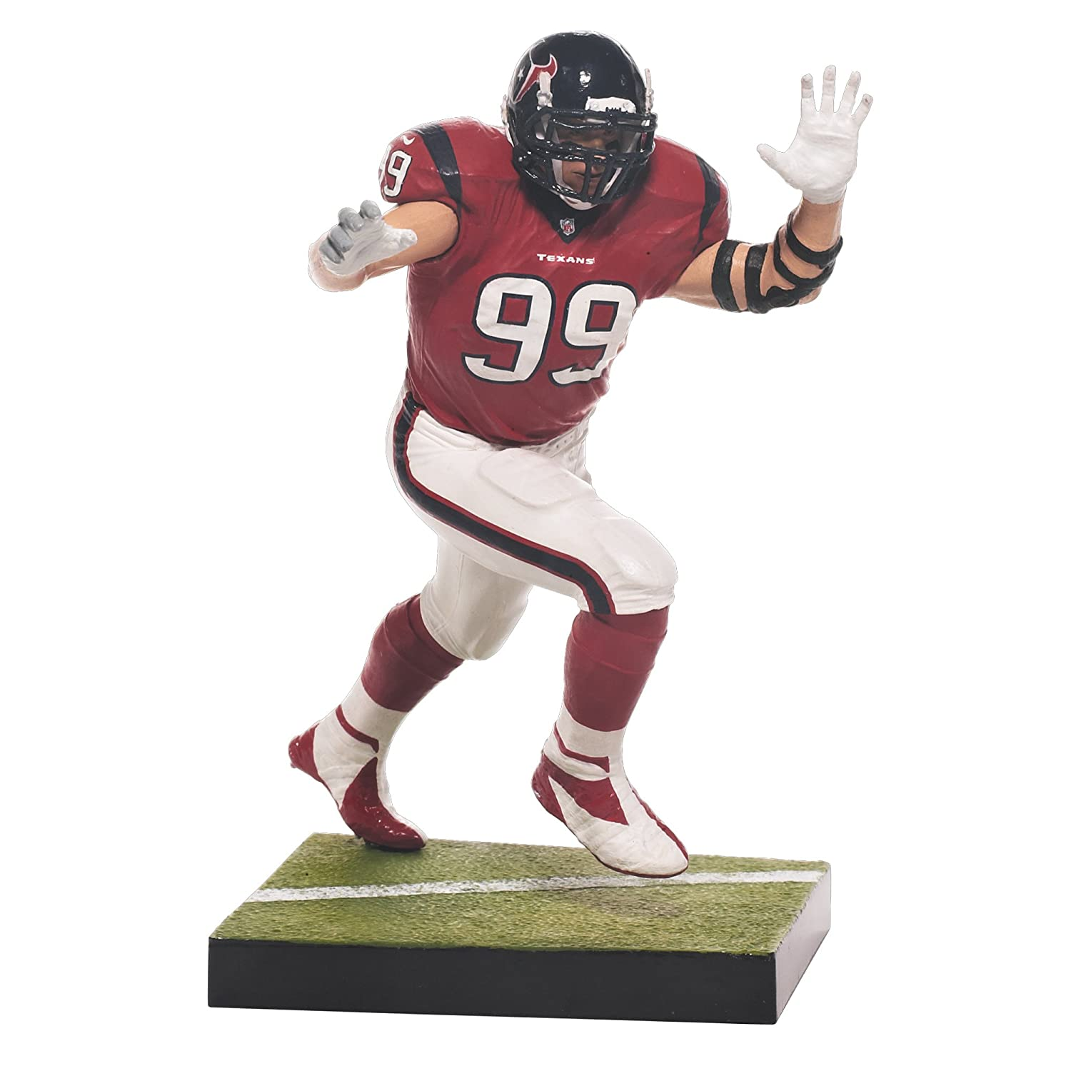 McFARLANE NFL SERIES 33 JJ WATT HOUSTON TEXANS ACTION FIGURE