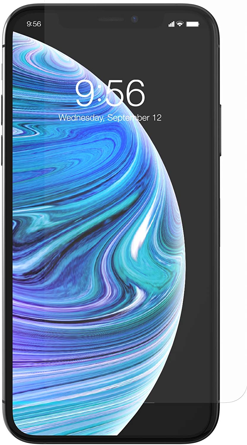 Amazon Com Zagg Invisibleshield Glass Screen Protector High Definition Tempered Glass For The Apple Iphone Xs X Impact Scratch Protection