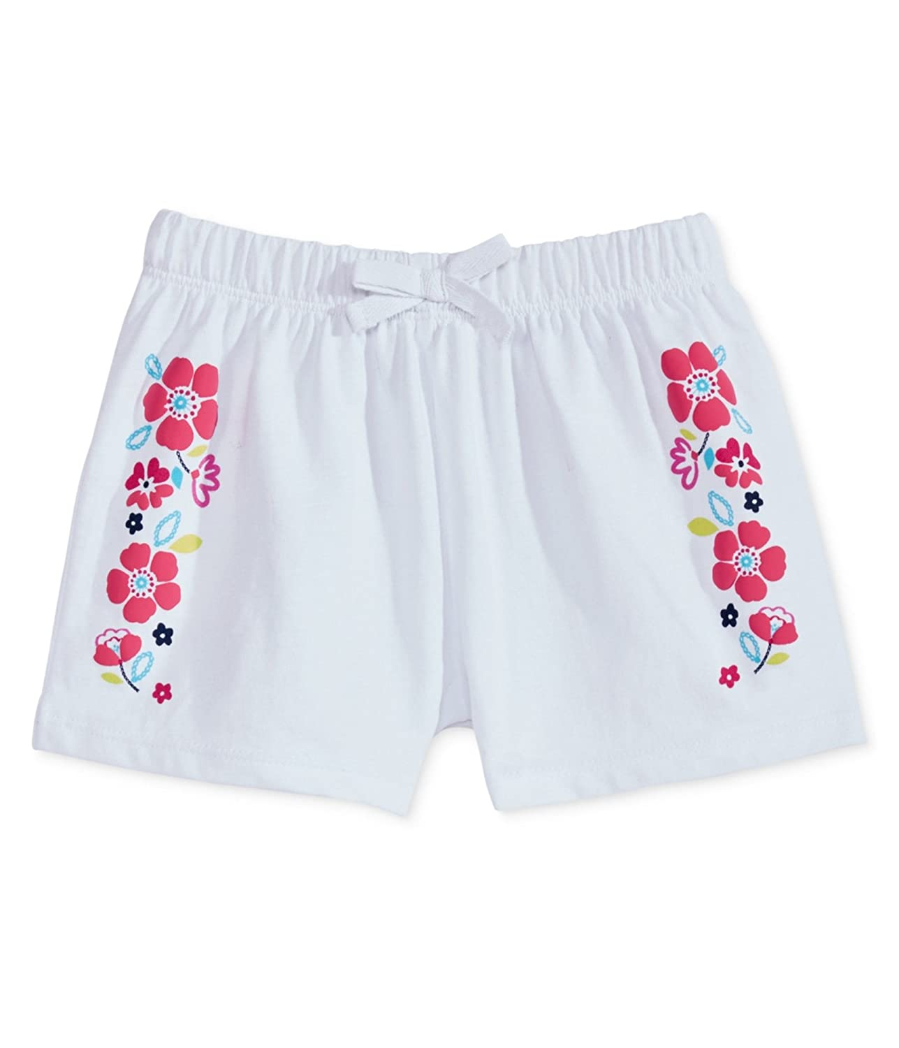 First Impressions Girls Ruffled Waist Casual Walking Shorts