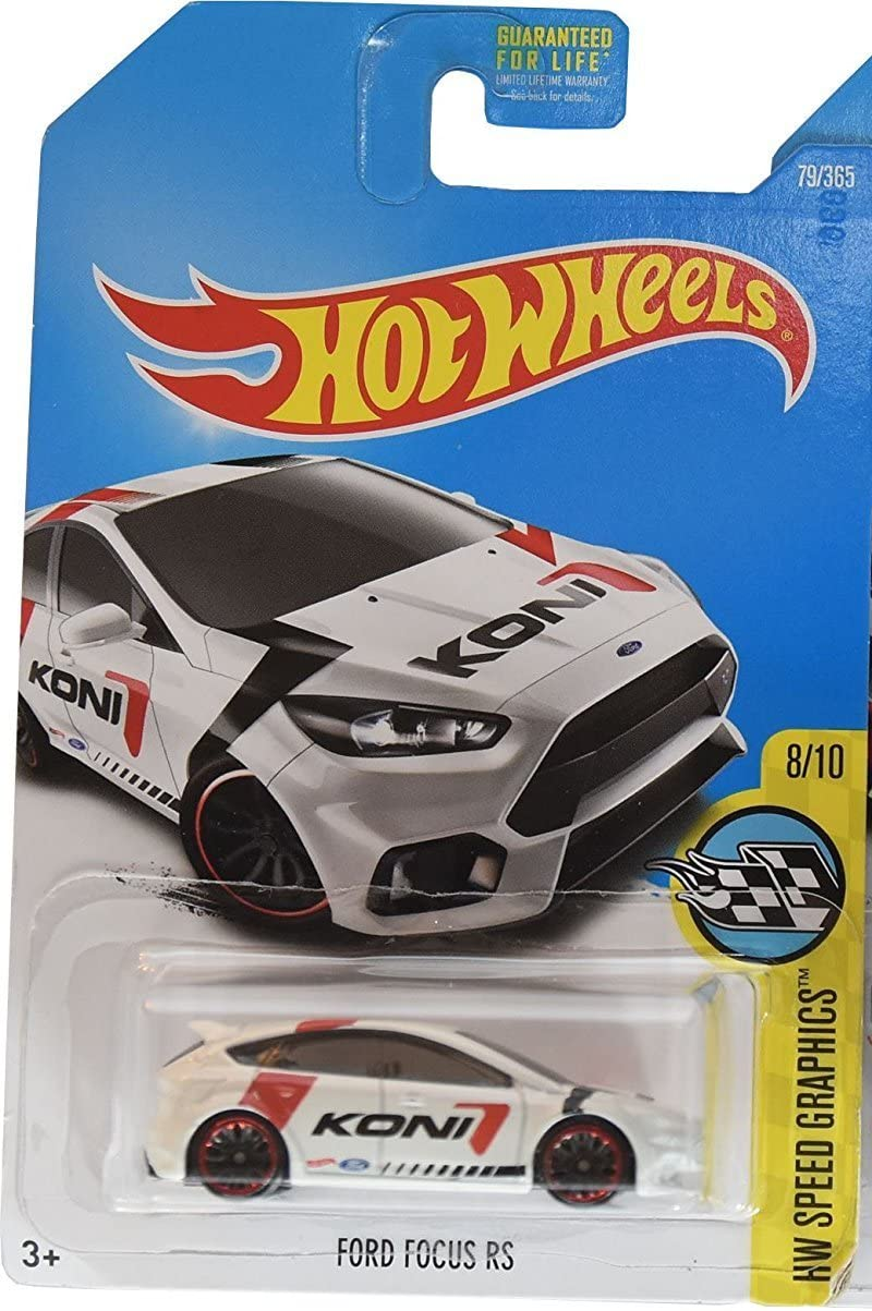 Hot Wheels SPEED GRAPHICS #79 FORD FOCUS RS WHITE