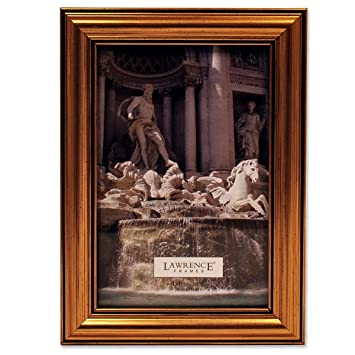 lawrence frames antique gold wood 4x6 picture frame classic design