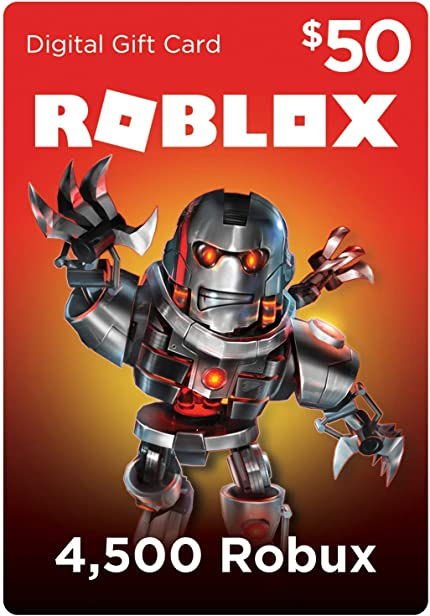 Roblox Credit Card Payment Tool Download - Amazoncom Roblox Gift Card 4500 Robux Online Game Code