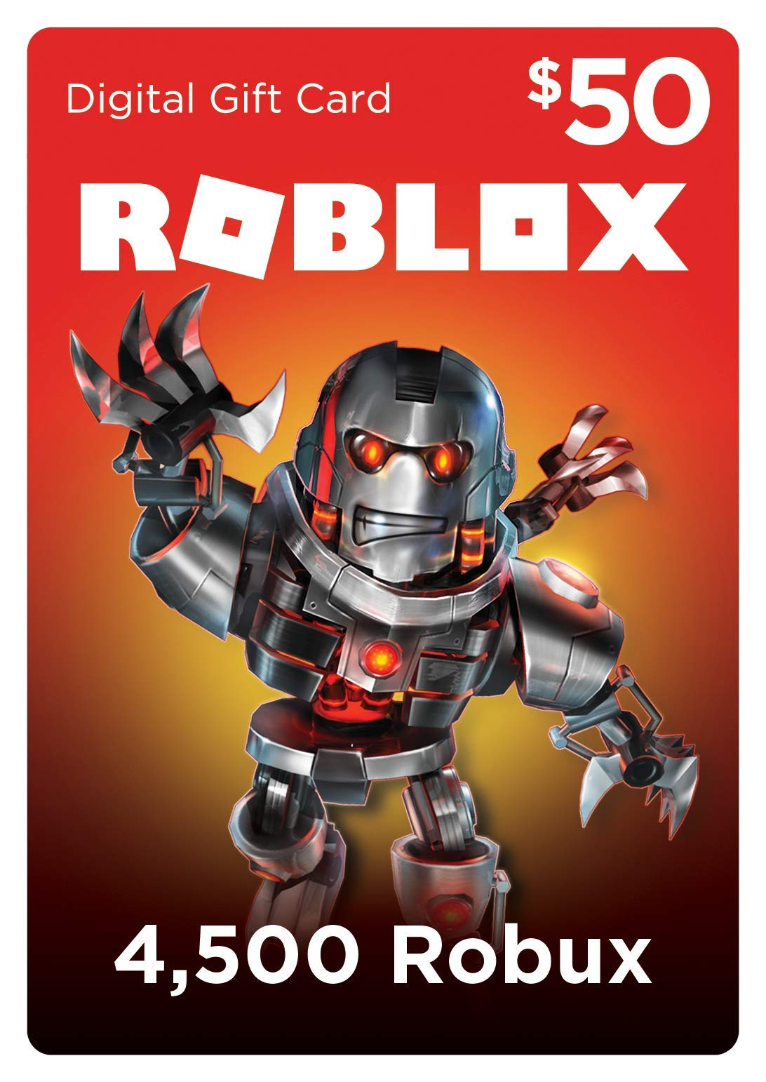 4,500 Robux for Roblox [Online Game Code] by Roblox