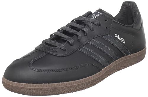 1dcf3863cd9ba Amazon.com | adidas Originals Men's Samba Leather Retro Sneaker ...