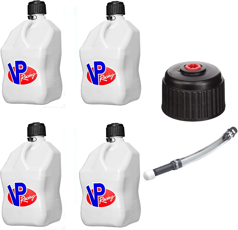 3042-3044 VP Racing Fuel Filler Hose /& Cap Kit for 5 Gallon Jugs
