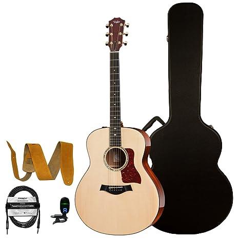 Taylor guitarras jb-616ce guitarra acústica con Deluxe marrón ...