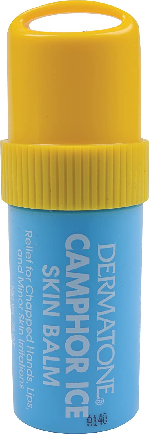 Dermatone Camphor Ice Skin Balm 0.75 oz (Pack of 6) Skin Ceuticals - Daily Moisture (For Normal or Oily Skin) -60ml/2oz